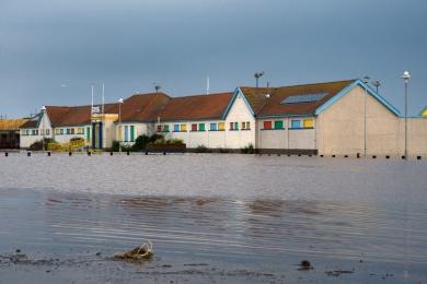 Stonehaven Flood Damage