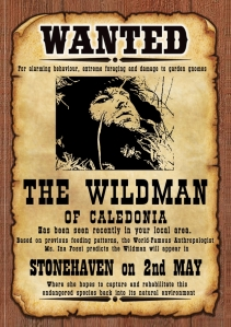 WANTED WILDMAN STONEHAVEN POSTER lo-res