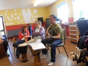 Creativity Group Making Their Kind of Music