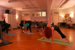 Yoga Class Running at Forest View