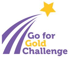 Going for gold logo
