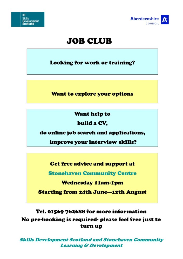 Stoney summer job club 2015 v2